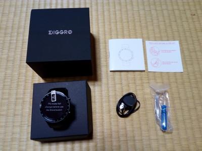 Diggro DI07 スマートウォッチ