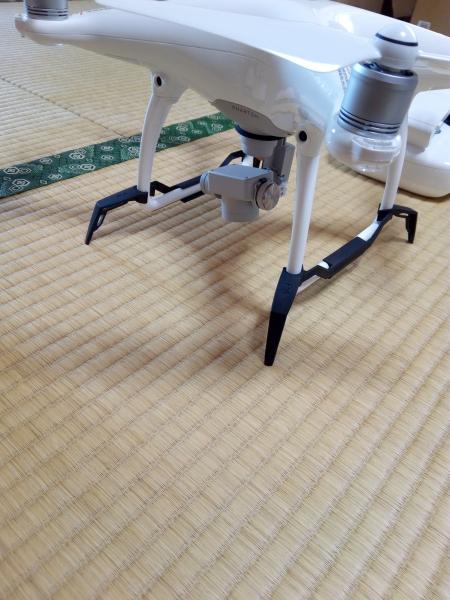TELESIN DJI Phantom 4用プロテクター ランディングギアガード 着陸ギアスキッド