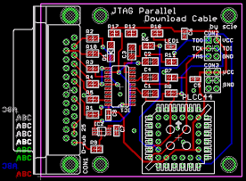 JTAG Parallel Download Cable