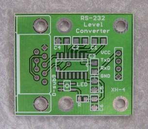 RS232レベル変換基板