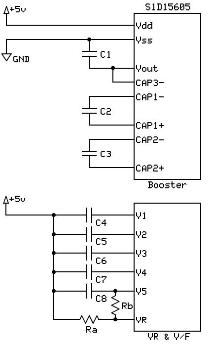 昇圧回路、電圧調整回路まわり
