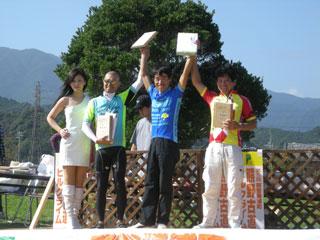 Aコースロード40代 優勝の井原さん(Aコース総合3位)