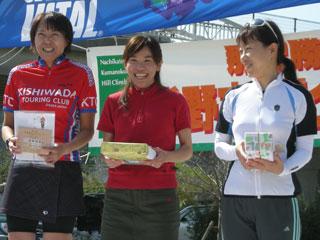 YOSHIMI、Bコースロード女子、3位入賞!