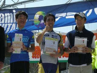 井原さん、Aコースロード40歳代、2位入賞!