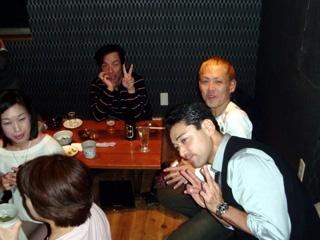 マツモトさん、IS田兄さん、こわハゲさん、げんちゃんです