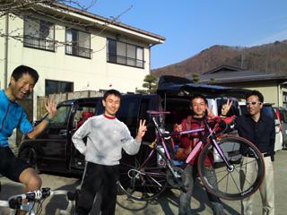 せ〜らさん、レッドさん、オオシマさん到着!