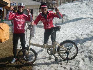 本日のMVPは自転車を勝ち取った岩城さん!