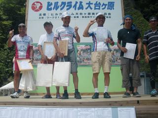 MTBクラス、西川さん優勝!島田さん準優勝!植林さん4位入賞!