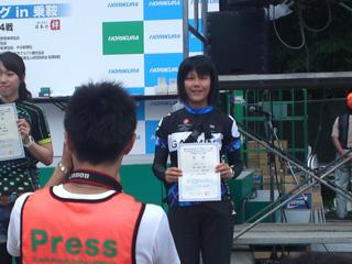 ユカワさん10位入賞!