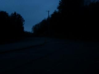 まだ真っ暗〜