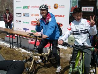 ツボっちゃんも折り畳み自転車ゲット!