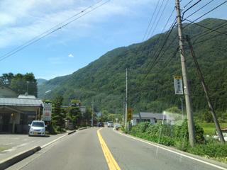 松本市内から乗鞍へ