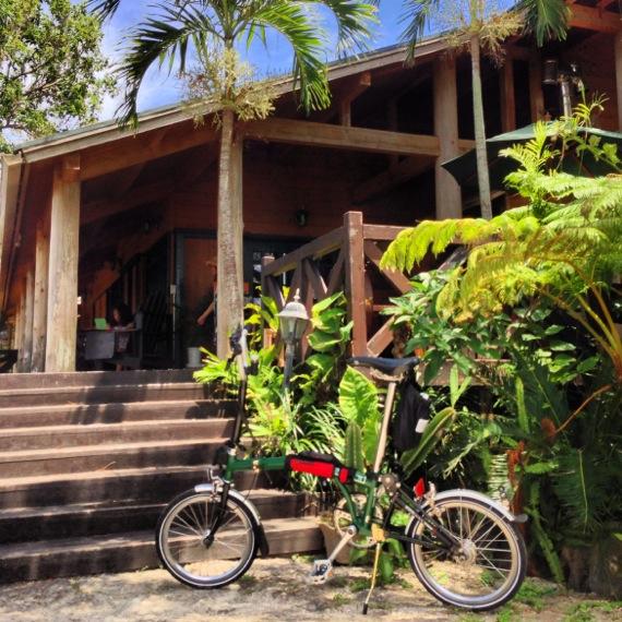 瀬底島のfuu cafe