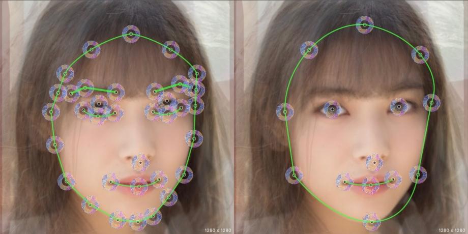 平均顔の作り方