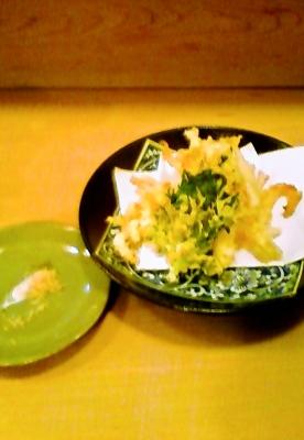 白魚の天ぷら