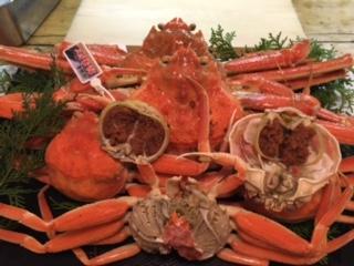 松葉蟹と香箱蟹