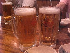 ビール♪ うふ♪