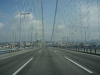 ごぞんじ、明石大橋。