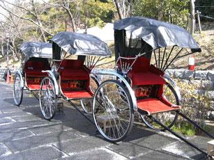 京都東山の人力車
