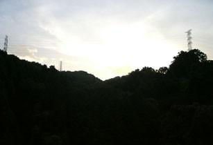 信貴山の登山道