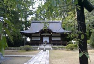 弘川寺の本殿