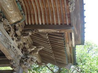 夏の龍口寺