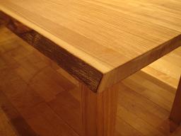 無垢テーブル1