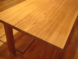 無垢テーブル2