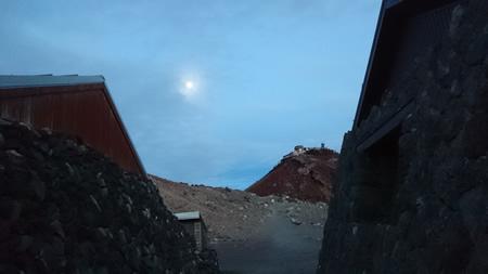 昨日は月蝕