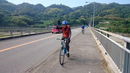 自転車終了