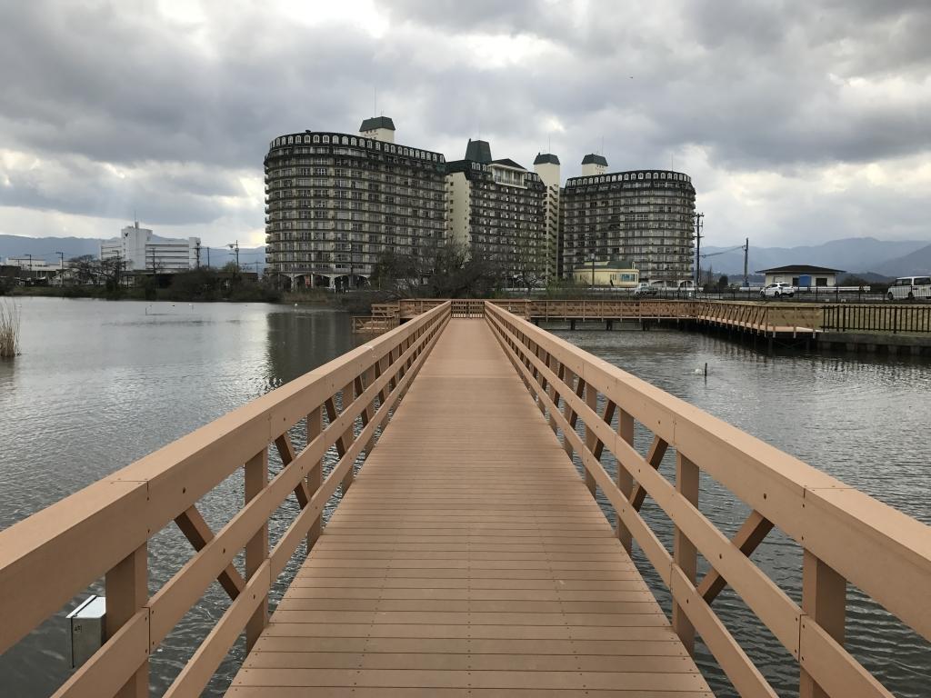 大川遊歩道