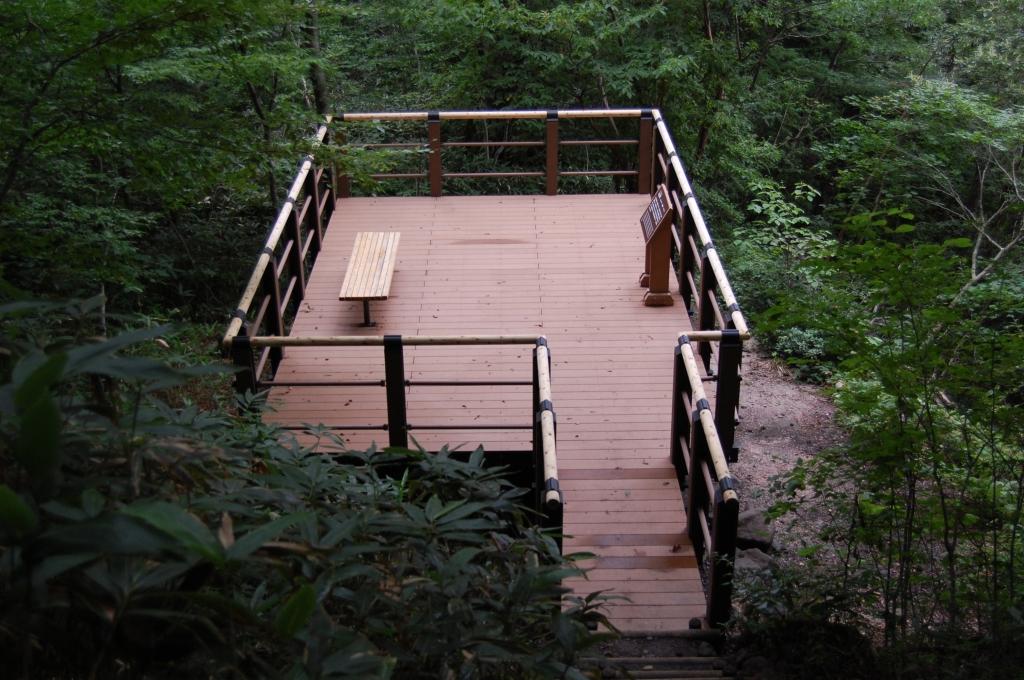 大山滝展望デッキ(鳥取県)