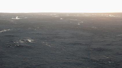 キラウエア火山火口