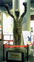 ロッキー銅像