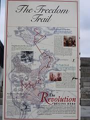 そしてフリーダムトレイル地図