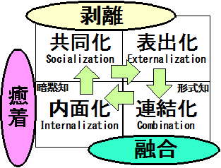 かってにSECI-NISI-Modelです。
