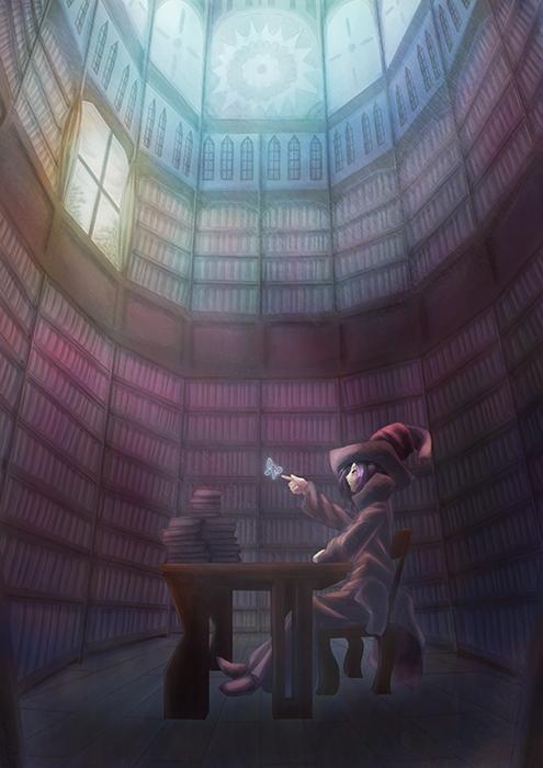 魔女と書庫