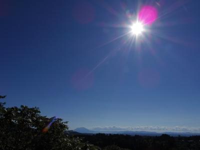 霧島神宮から見た景色