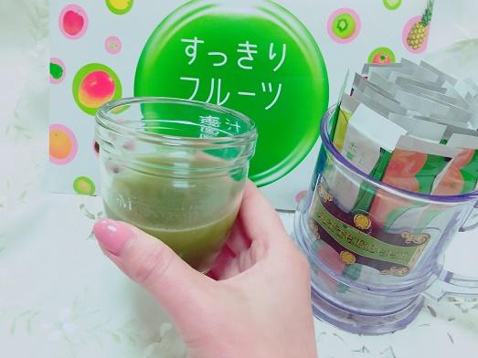 すっきりフルーツ青汁 ペコ 効果 ブログ