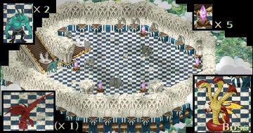 無限の塔9階ぷちマップ
