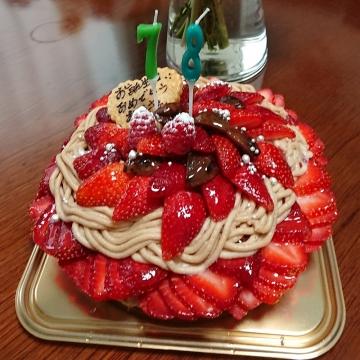 コムサのケーキ