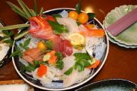 下田の宿の食事