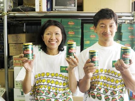 ミャンマービール・二人1.jpg
