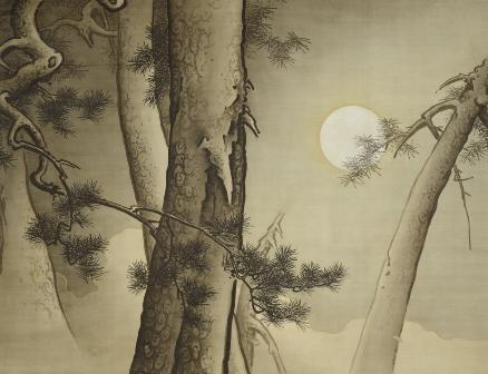 橋本雅邦「松に月」(東京藝術大学蔵)1.jpg