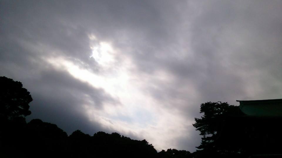 明治神宮の空
