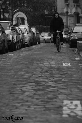 自転車と坂