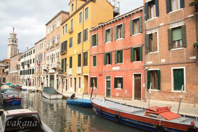 ヴェネツィアの町並み