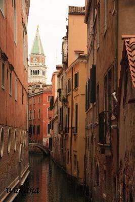 ヴェネツィアの夕暮れ