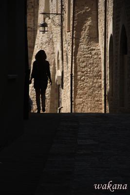 アッシジの光と影