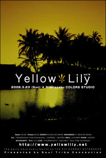 Yellow Lily act.19